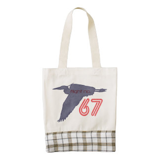 Blue Heron ~ Flight No.67 Zazzle HEART Tote Bag