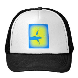 blue heron hat
