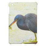 Blue Heron Having Lunch iPad Mini Case