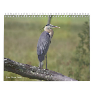 Blue Heron Series Calendar
