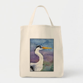 Blue Heron Shopping Tote