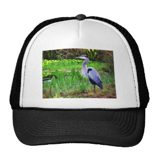 Blue Heron Trucker Hat
