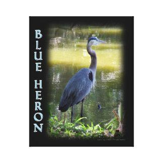 Blue Heron Wall Art Photograph
