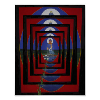 Blue Heron Zen Buddhist Centre Poster
