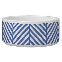 Blue Herringbone Bowl