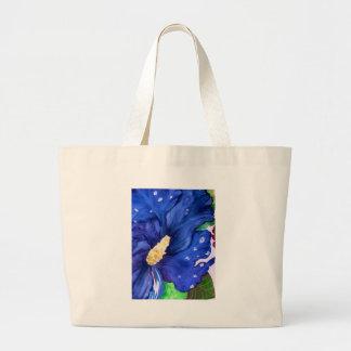 Blue Hibiscus Bag