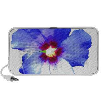 Blue Hibiscus Flower Speaker
