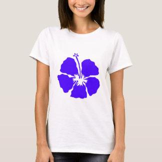 Blue hibiscus Hawaii flower T-Shirt