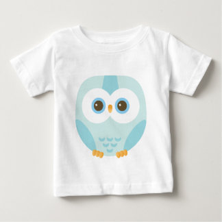 blue hibou for kids baby T-Shirt