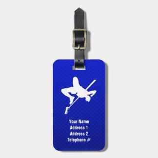 Blue High Jump Bag Tag