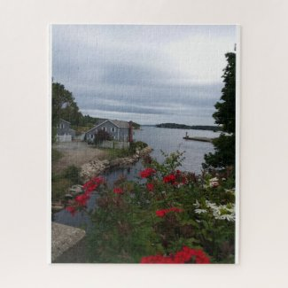 Blue Hill- A Maine Harbor Jigsaw Puzzle