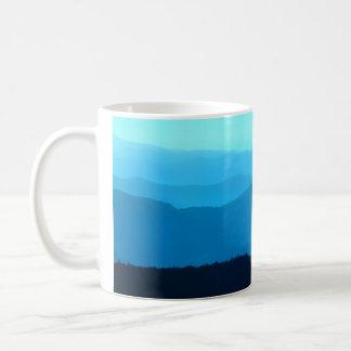 Blue Hills - Appalachian Mountains - Blank mug