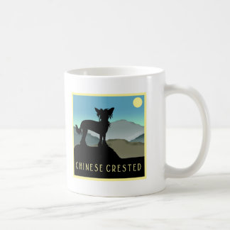 Blue Hills Chinese Crested Coffee Mug