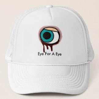 Blue hills, Eye For A Eye Trucker Hat