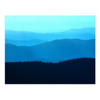Blue Hills - Great Smoky Mountains Post Card