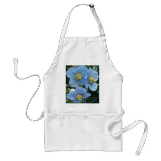 Blue Himalayan Poppy Adult Apron