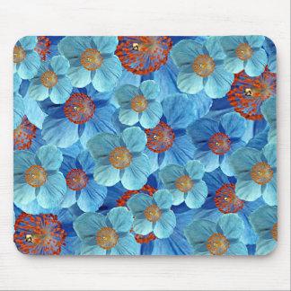 Blue Himalayan Poppy Flower Mousepad