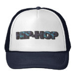 Blue Hip-Hop Hat