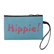 Blue Hippie Bagettes Change Purse