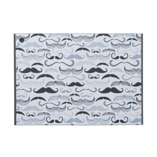 Blue Hipster Mustaches iPad Mini Case