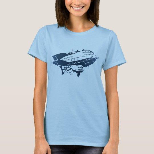Blue HMS Stubbington Shirt