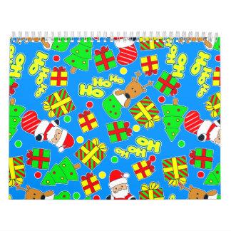 Blue - Ho Ho Santa Calendar