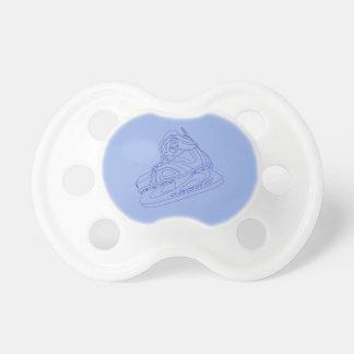 Blue Hockey Skate Pacifier