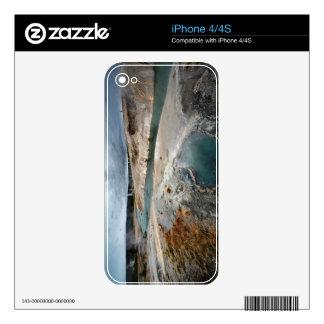 Blue Hole iPhone 4 Skins