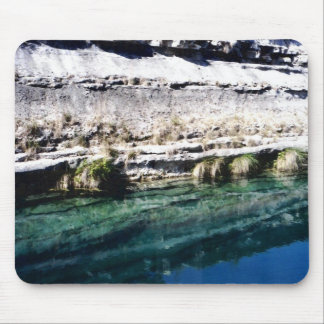 Blue Hole Mouse Pad