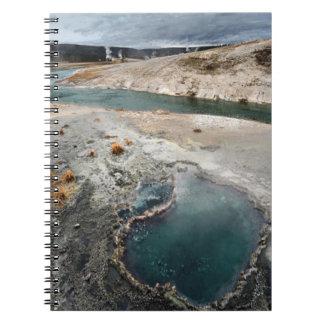 Blue Hole Spiral Notebook