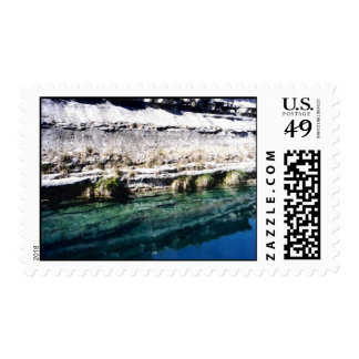 Blue Hole Stamp