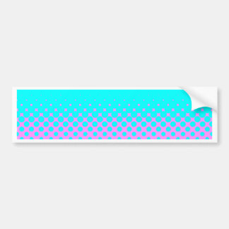 Blue Holes Bumper Sticker