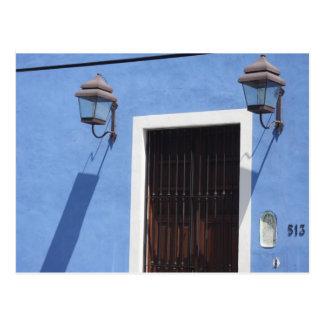 Blue Home Postcard