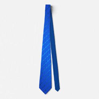 Blue Honeybomb Tie
