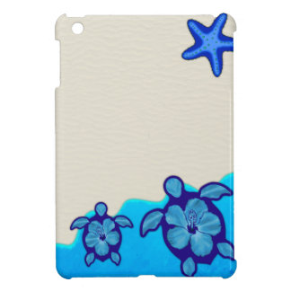 Blue Honu Turtles iPad Mini Cover