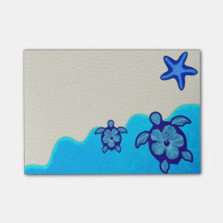 Blue Honu Turtles Post-it Notes