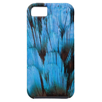 Blue Hooded Pita Feather Abstract iPhone SE/5/5s Case