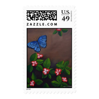 Blue Hope Postage by Maria Williams