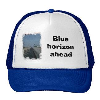 Blue horizon ahead trucker hat