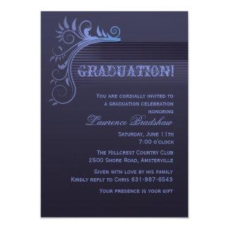 Blue Horizon Graduation Invitation