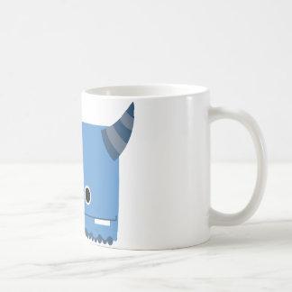 Blue Horned Monster Coffee Mug