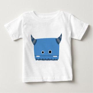 Blue Horned Monster Tee Shirt