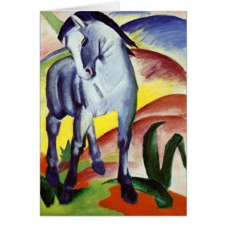 Blue Horse Card