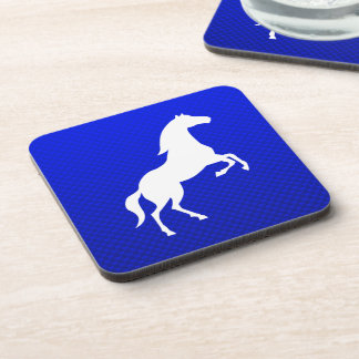 Blue Horse Beverage Coaster