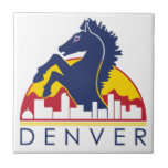 Blue Horse Denver Ceramic Tile