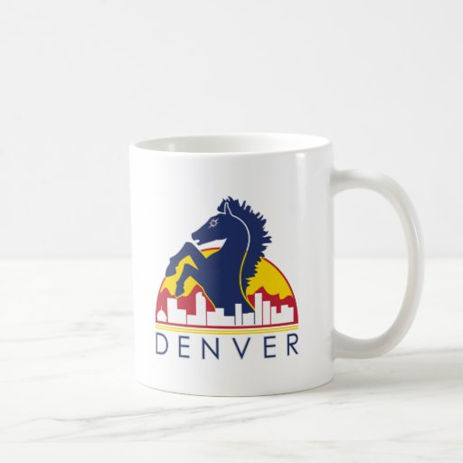 Blue Horse Denver Coffee Mug
