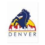 Blue Horse Denver Postcard