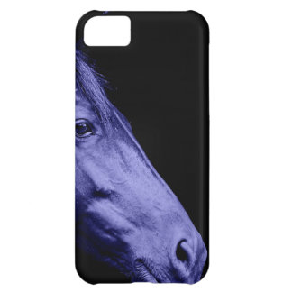 Blue Horse Design Cover For iPhone 5C