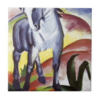 Blue Horse I by Franz Marc Ceramic Tile