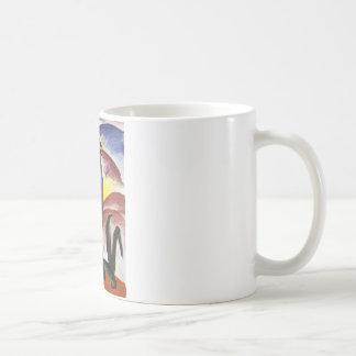Blue Horse I by Franz Marc Classic White Coffee Mug